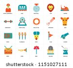 set of 20 icons such as... | Shutterstock .eps vector #1151027111