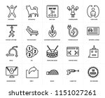 set of 20 icons such as 100...