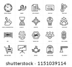 set of 20 icons such as toll... | Shutterstock .eps vector #1151039114