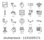 set of 20 icons such as fuse...