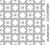 seamless vector pattern in... | Shutterstock .eps vector #1151055584