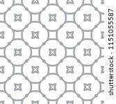 seamless vector pattern in... | Shutterstock .eps vector #1151055587