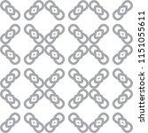 seamless vector pattern in... | Shutterstock .eps vector #1151055611