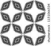 ethnic boho seamless pattern.... | Shutterstock .eps vector #1151066534