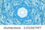 abstract blue background with... | Shutterstock . vector #1151067497