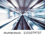 motion blur abstract background ... | Shutterstock . vector #1151079737