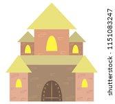 castle vector illustration.... | Shutterstock .eps vector #1151083247