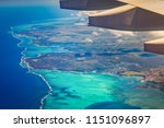 aerial view of a coastline.... | Shutterstock . vector #1151096897