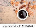 tamarind paste with fresh ripe... | Shutterstock . vector #1151114144