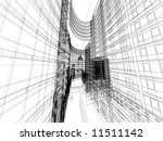 abstract architecture | Shutterstock . vector #11511142