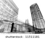 abstract architecture | Shutterstock . vector #11511181