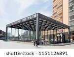 berlin  germany   may 24  2018  ... | Shutterstock . vector #1151126891