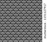 seamless pattern with circles... | Shutterstock .eps vector #1151127917