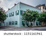 charleston south carolina... | Shutterstock . vector #1151161961