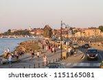 nesebar  bulgaria   04.08.2017  ... | Shutterstock . vector #1151165081