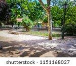 a playground in the eva duarte... | Shutterstock . vector #1151168027