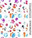 seamless abstract geometric... | Shutterstock . vector #1151169311
