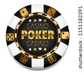 vector casino chip | Shutterstock .eps vector #1151182391