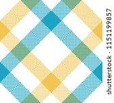 check tablecloth pixel seamless ... | Shutterstock . vector #1151199857