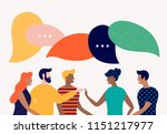 flat style vector illustration  ... | Shutterstock .eps vector #1151217977