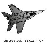 military naval fighter jet...