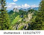 ettaler mandl mountain near... | Shutterstock . vector #1151276777