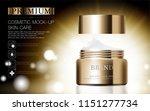 hydrating facial cosmetics... | Shutterstock .eps vector #1151277734