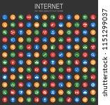 internet and communication... | Shutterstock .eps vector #1151299037