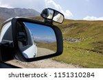roadtrip at col du parpaillon ... | Shutterstock . vector #1151310284