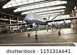 military drone uav aircraft's... | Shutterstock . vector #1151316641