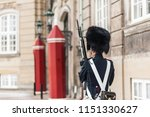 view of the amalienborg square... | Shutterstock . vector #1151330627