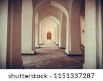 Arched Hallway Perspective At...