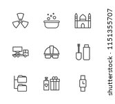 modern simple vector icon set.... | Shutterstock .eps vector #1151355707