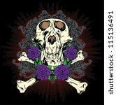 Skull N Roses Tattoo