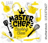 sketch style master chef...   Shutterstock .eps vector #1151372627