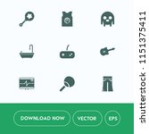 modern  simple vector icon set... | Shutterstock .eps vector #1151375411