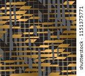 checkered dynamic seamless... | Shutterstock .eps vector #1151375771