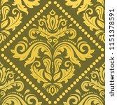 classic seamless vector pattern....   Shutterstock .eps vector #1151378591