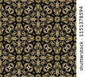 orient vector classic pattern....   Shutterstock .eps vector #1151378594