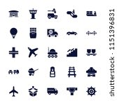 transportation icon. collection ...   Shutterstock .eps vector #1151396831
