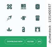 modern  simple vector icon set... | Shutterstock .eps vector #1151400557