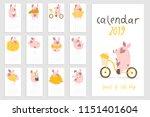 Monthly Creative Calendar 2019...