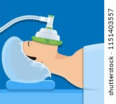 anesthesia medical surgery | Shutterstock .eps vector #1151403557