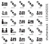 set of 25 icons such as pirate  ...