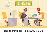 resume recruiting background...   Shutterstock .eps vector #1151437361