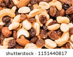 peanuts  cashew nuts and... | Shutterstock . vector #1151440817