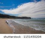 sandwood beach  northern... | Shutterstock . vector #1151450204