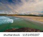 sandwood beach  northern... | Shutterstock . vector #1151450207