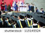 Back Of Graduates During...