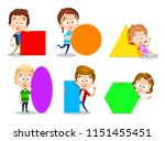 vector cartoon illustration of... | Shutterstock .eps vector #1151455451
